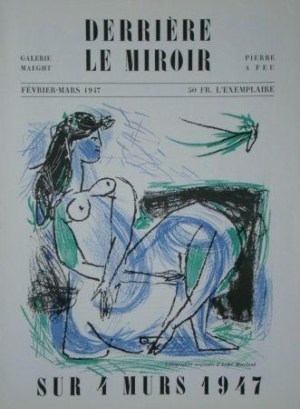 Illustriertes Buch Marchand - Derrière Le Miroir