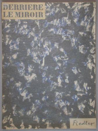 Lithographie Fiedler - Derrière Le Miroir
