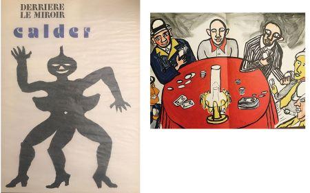 Lithographie Calder - Derrière le miroir N°212. Alexander CALDER.