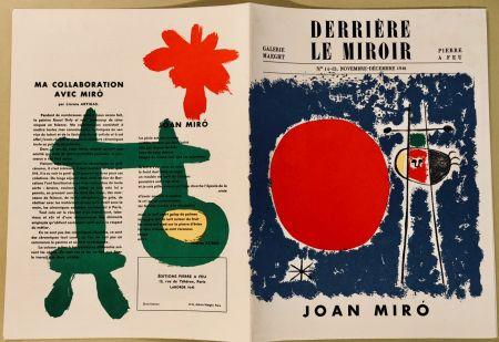 Illustriertes Buch Miró - Derrière Le Miroir N° 14-15