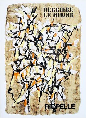Illustriertes Buch Riopelle - Derrière le Miroir n° 160. RIOPELLE. juin 1966.