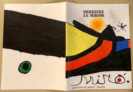 Illustriertes Buch Miró - Derrière Le Miroir  N° 193- 194 Novembre 1971- Maeght Editeur
