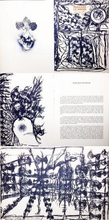 Illustriertes Buch Riopelle - Derrière le Miroir n° 232. RIOPELLE. Janvier 1979.