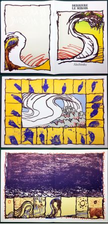 Illustriertes Buch Alechinsky - Derrière le Miroir n° 247. ALECHINSKY. 6 ESTAMPES ORIGINALES. 1981