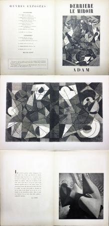 Illustriertes Buch Adam - Derrière le Miroir n° 24. ADAM - Décembre 1949. 1ere édition.