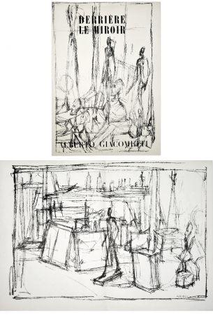 Illustriertes Buch Giacometti - Derrière le Miroir n° 39-40 . GIACOMETTI. Juin 1951.