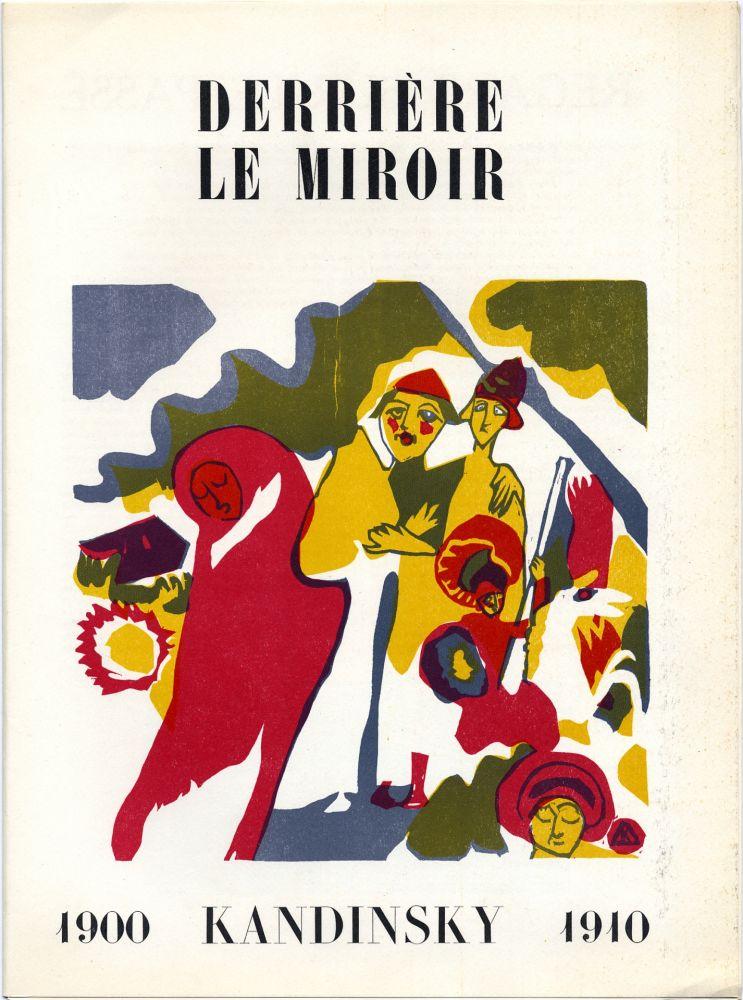 Illustriertes Buch Kandinsky - Derrière le Miroir n° 42. Novembre 1951 - KANDINSKY