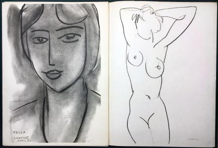 Illustriertes Buch Matisse - Derrière le Miroir n° 46-47. MATISSE. Mai 1952. 1ère Édition.