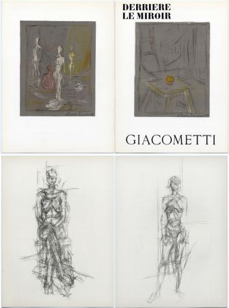 Illustriertes Buch Giacometti - Derrière le Miroir n° 65 . GIACOMETTI . Mai 1954.