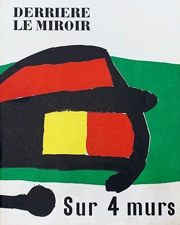 Illustriertes Buch Miró - Derrière le Miroir, No 107-108-109 : Sur 4 Murs
