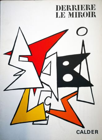 Illustriertes Buch Calder - Derriere le Miroir n. 141