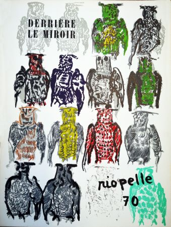 Illustriertes Buch Riopelle - Derriere le Miroir n. 185