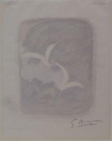 Lithographie Braque - Descente aux enfers planche 1