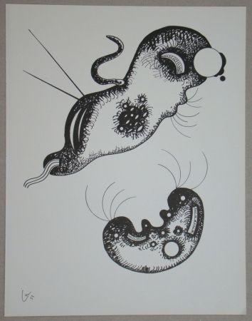 Lithographie Kandinsky - Dessin à la plume, 1933