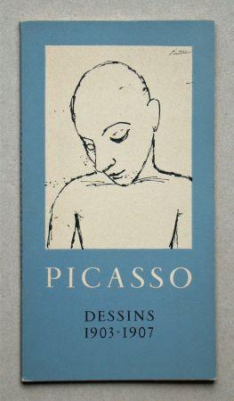 Illustriertes Buch Picasso - Dessins 1903-1907