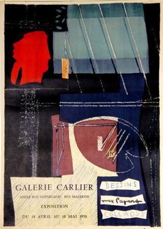 Lithographie Papart - Dessins Collages  Galerie Carlier