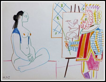 Lithographie Picasso (After) - DESSINS DE VALLAURIS