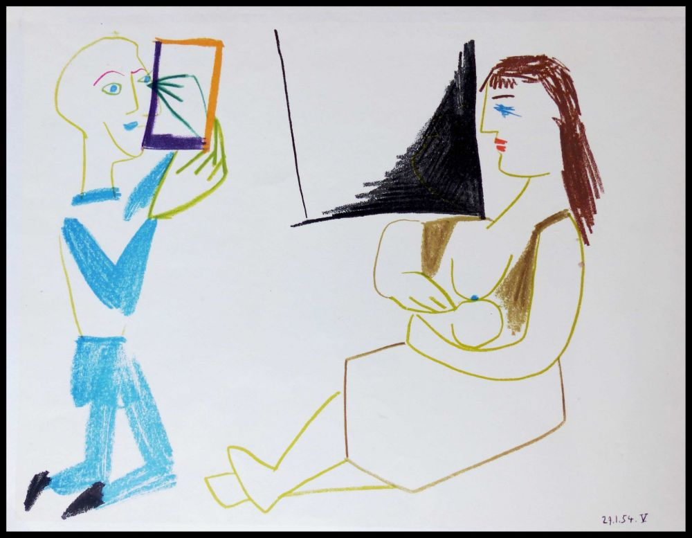 Lithographie Picasso (After) - DESSINS DE VALLAURIS II