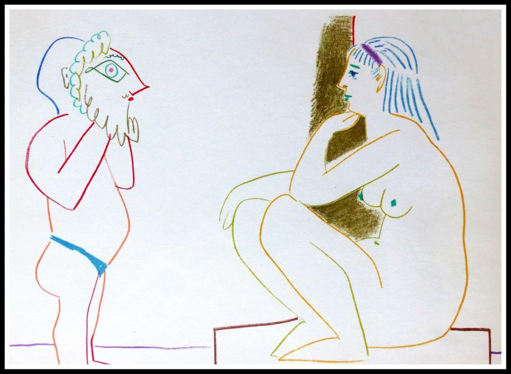 Lithographie Picasso (After) - DESSINS DE VALLAURIS III