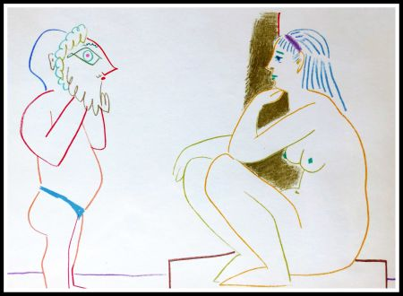 Lithographie Picasso (After) - DESSINS DE VALLAURIS III