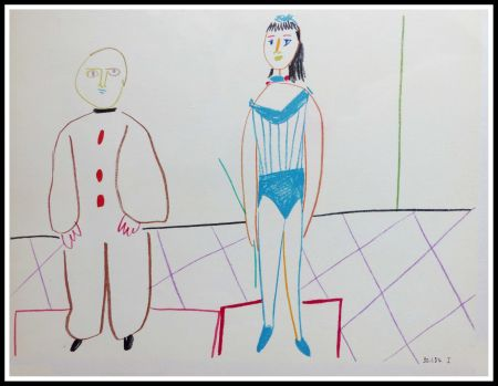 Lithographie Picasso (After) - DESSINS DE VALLAURIS IX