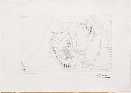 Stich Picasso - Deux Femmes Batifolant