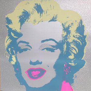 Siebdruck Warhol (After) - Diamond Marilyn (by Sunday B. Morning)