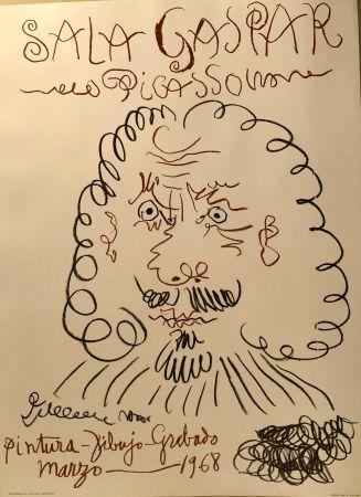 Plakat Picasso -  Dibujos De Picasso - Sala Gaspar Mars 1968