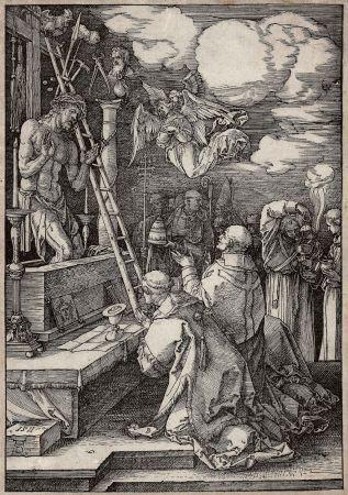 Holzschnitt Durer - Die Messe Des Heiligen Gregor (The Mass Of St. Gregory)