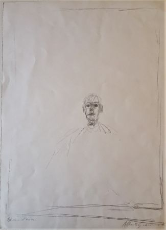 Lithographie Giacometti - Diego