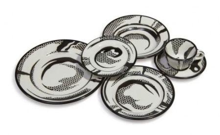 Keramik Lichtenstein - Dinnerware: One Setting,