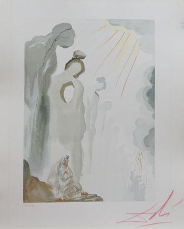 Holzschnitt Dali - Divine Comedy Purgatory Canto 13