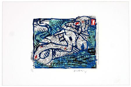 Lithographie Alechinsky -  Dix-septième arrondissement (Paris)