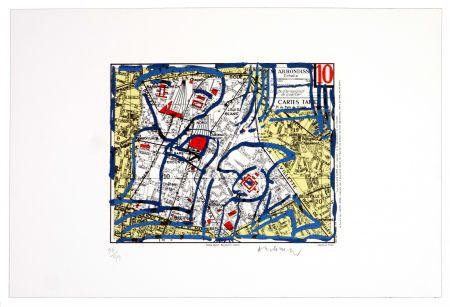 Lithographie Alechinsky - Dixième arrondissement (Paris)