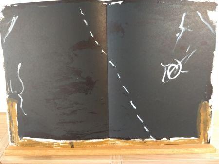 Illustriertes Buch Tapies - DLM168