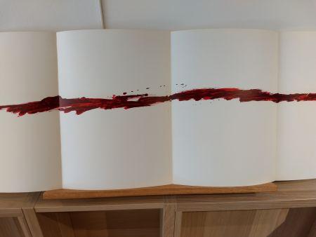 Illustriertes Buch Tapies - Dlm180