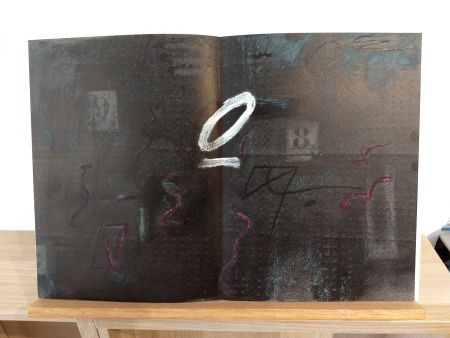 Illustriertes Buch Tapies - DLM234