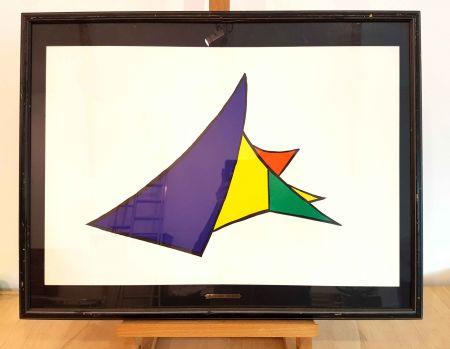 Lithographie Calder - Dlm 141-4