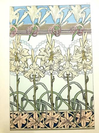 Lithographie Mucha - Documents Décoratifs