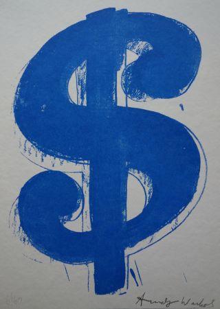 Siebdruck Warhol (After) - Dollar Sign