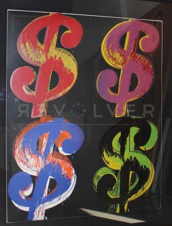 Siebdruck Warhol - Dollar Sign, 4 (Fs Ii.282)