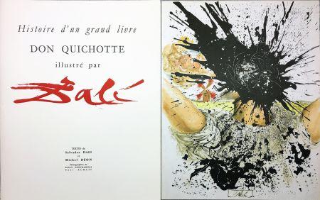 Illustriertes Buch Dali - DON QUICHOTTE À LA TÊTE QUI ÉCLATE (1957). Histoire d'un grand livre.