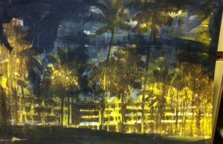Lithographie Perez - Dorado Hilton, Puerto Rico