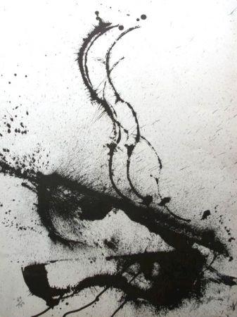 Lithographie Arman - Dracula