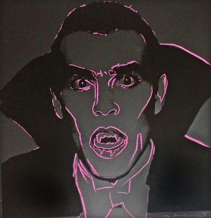 Siebdruck Warhol - Dracula