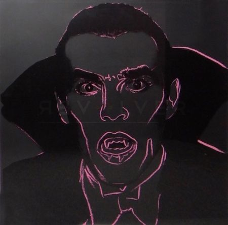 Siebdruck Warhol - Dracula (FS II.264)