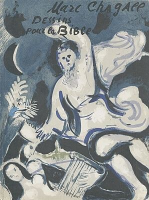 Illustriertes Buch Chagall - Drawings for the bible