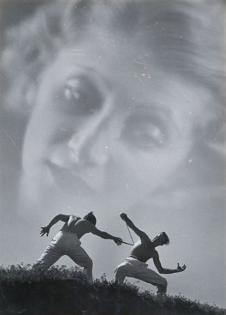Fotografie Aszmann - Duel,1935