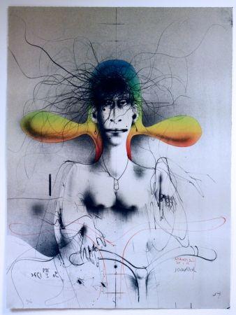 Lithographie Wunderlich - Easy Rider