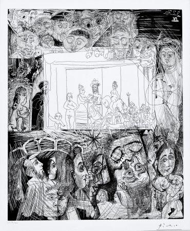 Aquatinta Picasso - Ecce Homo, d'Apres Picasso